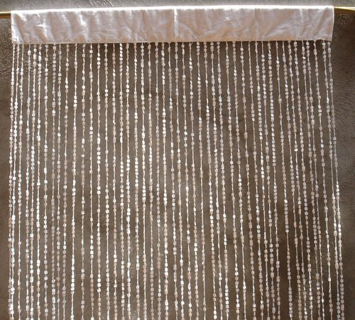 Decorative Curtains - Beaded Curtain Exporter from Delhi