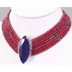 Ruby Choker Necklace