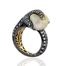 Natural Pearl Rings