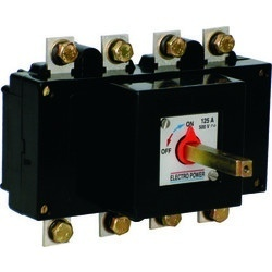 Isolator Switch Gears(3P, TPN & 4P- 125 to 800 A)