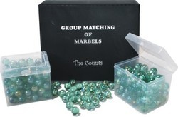 Set Of 400 Pearl Marbles For Mathematics Kit