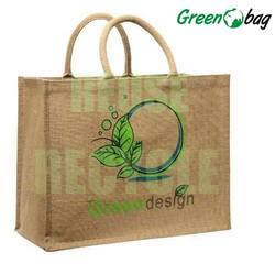 Jute Ping Bags With Customized Print