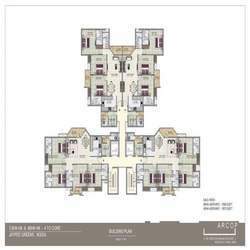 3BHK & 4BHK Floor Plan