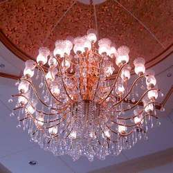 Designer Flower Chandelier
