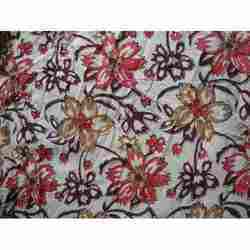 Modern Hand Block Print Design Fabric