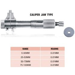 Caliper Jaw Inside Micrometers