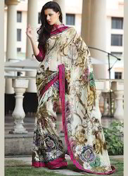 Digital Printed Saree