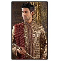 Men's Beaded Embroidered Sherwani