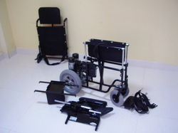 Folding Wheel Chair Electric Power