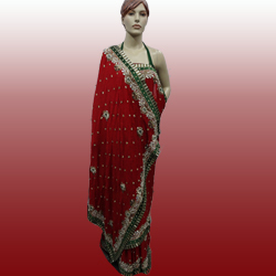 Fancy Stone Work Saree