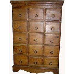 Chest of 15 Drawers