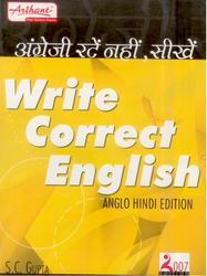 Write Correct English Anglo Hindi Edition