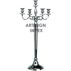 Wedding 5 Light Candelabra Centerpiece