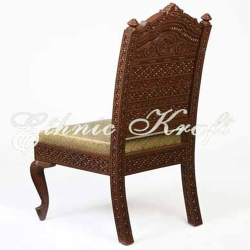 Fully Carved Back Dining Chair