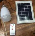 Solar LED 5 Watt Bulb With Battery