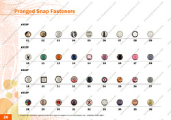 Pronged Snap Fasteners