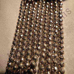 Silver Pyrite Beads