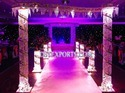 Wedding Metal Crystal Welcome Gate