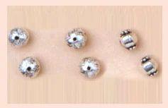 Round Metal Beads