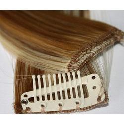 Human Hair Extensions ( Clip On Hair )