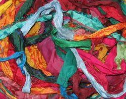 Sari Silk Ribbon Yarns For Knitting