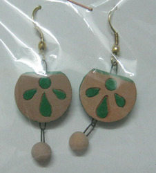 Terracotta Fashion Earrings