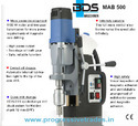 BDS MAB 500 - Magnetic Core Drilling Machine