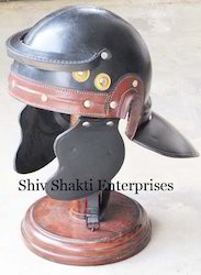 Leather Roman Helmet