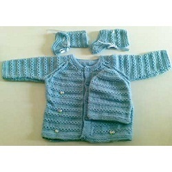 Hand Knitted Baby Sets