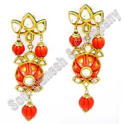 Diamond+Kundan+Earring