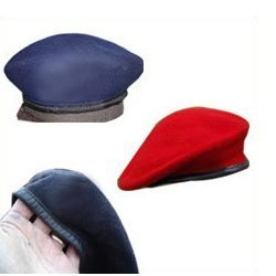 Multicolored Beret Caps