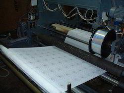 Hot Spangle Fixing Punching Machinery