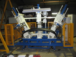 Bumper Punching And Piercing Machine