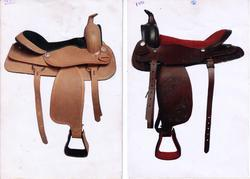 Tooling & Carven Western Saddle