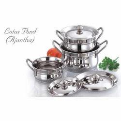 Lotus Pond Ajantha Stainless Steel Kitchenware