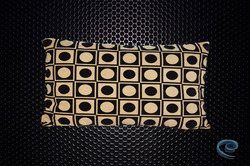 Cushion Cover With Black And White Dots