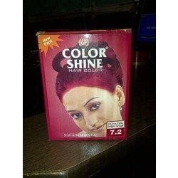 Color Shine Burgundy Hair Color