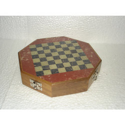 Wooden Marble Chess Set