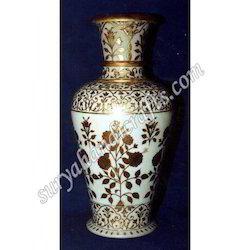Marble Painting Vase