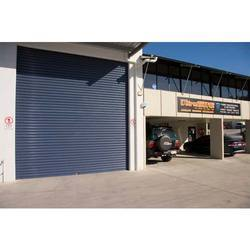 industrial type rolling door
