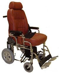Foldable Powered Wheelchair with Deluxe Seat