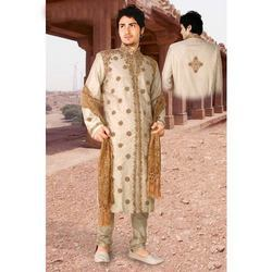 Embroidered Silk sherwani