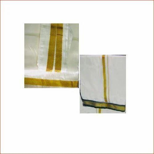 Dhotis/ Vesti Silk and Cotton