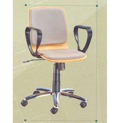 Grey Revolving Chair