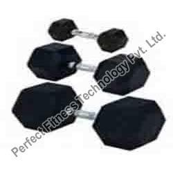 Heavy Quality Rubberized Dumbbells