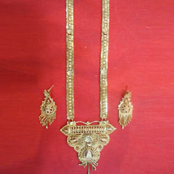 Gold Bridal Necklace Set