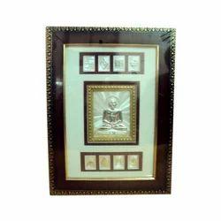Mini Block Patra Silver Frames
