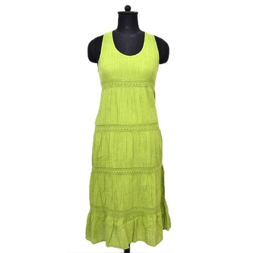 Ladies Long Cotton Dresses
