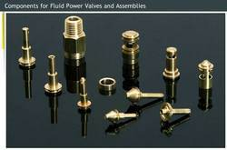 Components For Fluid Power Valves And Assemblies