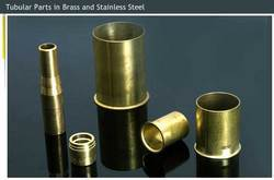 Tubular Parts in Brass and Stainless Steel
